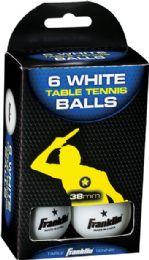 6 Units of Ping Png Ball Wh 6pk - Seasonal Items