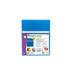 12 Units of Magnetic Pocket Blue 9.5x11.75 - Office Accessories