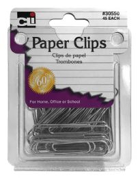 12 Units of Cli Paper Clips 45 - Paper clips