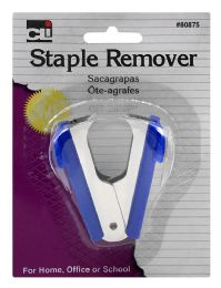 6 Units of Charles Leonard Staple Remover Assorted Colors - Staples & Staplers