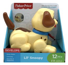 4 Units of FisheR-Price Lil Snoopy - Baby Toys