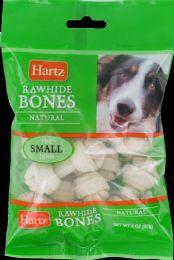 12 Units of Hartz Dog Chew R/h Bone Mini - Pet Chew Sticks and Rawhide