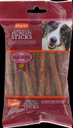 12 Units of Hm Mckrybeef Munch Stk 20pk - Pet Chew Sticks and Rawhide