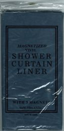 12 Units of Shower Curtain Jm Liner Navy - Shower Curtain