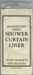 6 Units of Shower Curtain Jm Liner Bone - Shower Curtain