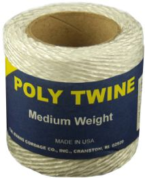 6 Units of Twine White Poly 160 Ft - Hardware Miscellaneous