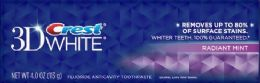 24 Units of Crest 3d White - Toothbrushes and Toothpaste