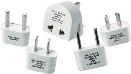 4 Units of Intrnatl Adaptr Plug Set/Pouch - Travel & Luggage Items