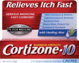 12 Units of Cortizone 10 Cream - First Aid and Bandages