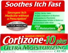 6 Units of Cortizone 10 Plus Cream 1z - First Aid and Bandages