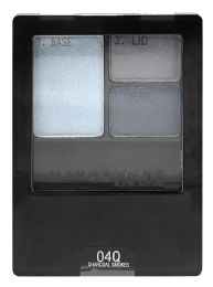 8 Units of Maybelline Expert Wear Eyeshadow 040 Charcoal Smokes - Eye Shadow & Mascara