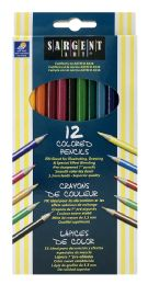 24 Units of Sargent Art Pencils Colored 12 - Pens & Pencils