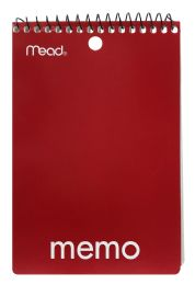 24 Units of Mead Wirebound Memo Book - Note Books & Writing Pads