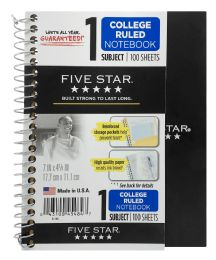 12 Units of Five Star College Ruled Notebook - Note Books & Writing Pads