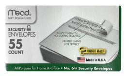 12 Units of Mead Security Envelopes 55 Count - Envelopes