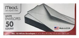 12 Units of Mead #10 Envelopes, 4 1/4 Inch X 9 1/2 Inch - Envelopes