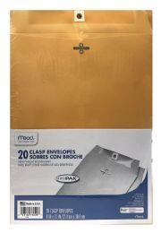 12 Units of Mead Clasp Envelopes, Office Pak - Envelopes