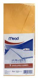 24 Units of Mead Heavyweight Brown Kraft Envelopes 9 - Envelopes