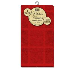 12 Units of Kitchen Towel Terry Square - Kitchen Towels