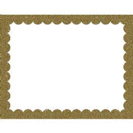 50 Units of Gold Glitter Poster Brd 22X28 - Poster & Foam Boards