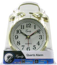 6 Units of Keywind Twin Bell Alarm Clock - Clocks & Timers