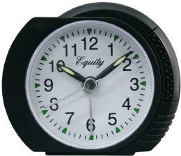 6 Units of Black Analog Alarm Clock - Clocks & Timers