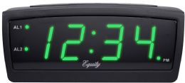 6 Units of Greenled Alarm Clock 0.9in - Clocks & Timers