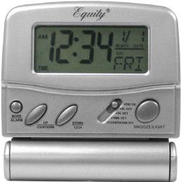6 Units of Lcd Digital Fold Up Trvl Alarm - Clocks & Timers