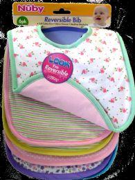 12 Units of Bib Knit Fiber Fill Rever 6pk - Baby Accessories