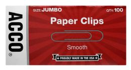 20 Units of Acco Economy Jumbo Paper Clips - Paper clips