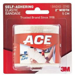 6 Units of Ace Self Adhering Bandage 2in - First Aid and Bandages
