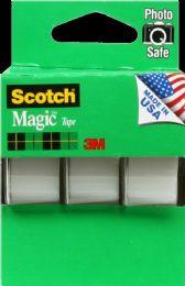 12 Units of Tape Scotch Magic 105 3Pk - Tape & Tape Dispensers