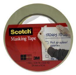 6 Units of Scotch Masking Tape - Tape & Tape Dispensers