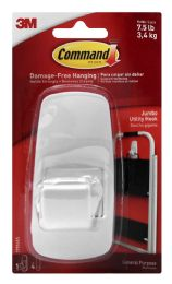 8 Units of Command Brand Damage-Free Hanging Jumbo Utility Hook - Office Supplies