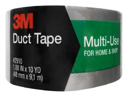 6 Units of Scotch Multi-Use Duct Tape, 1.88 In X 10 Yd - Tape & Tape Dispensers
