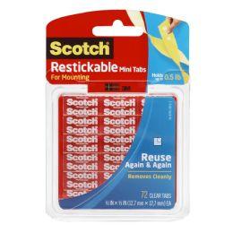 12 Units of Scotch Restickab Mounting Tab - Envelopes