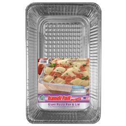 22 Units of Handi Foil Cnc Giant Pasta Pan W/lid - Pots & Pans