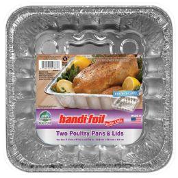 20 Units of Handi Foil Poultry Pan W/lid 2ct - Pots & Pans
