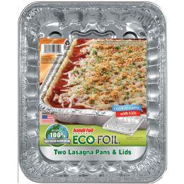 20 Units of Handi Foil Cnc Lasagna Pan W/lid 2ct - Pots & Pans