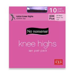 6 Units of Nn Knee High Value Pk Ofbl Pls - Socks & Hosiery