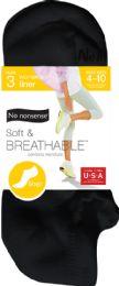 6 Units of Vent Liner Black 4 8 - Socks & Hosiery