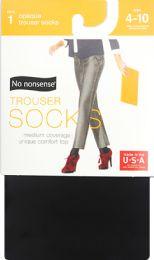 8 Units of Silky Opaque Trouser Black - Socks & Hosiery