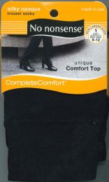 12 Units of Slk Opaque Trouser Blk 9 12 - Socks & Hosiery