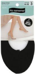 6 Units of Shoe Solu Nylon Line Blk - Socks & Hosiery