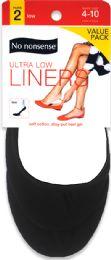 6 Units of Nn Shoe Sol Ctn U Lw Ct Lnr bk - Socks & Hosiery
