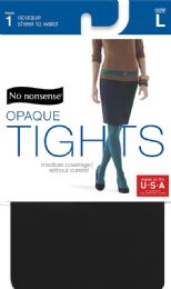 6 Units of Nn Silky Opq Stw Tight L Blk - Socks & Hosiery
