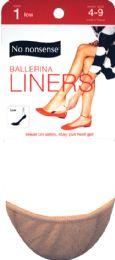 6 Units of Liner Mcrofbr Lo Cut 4 9 Nude - Socks & Hosiery