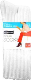 6 Units of Nn Cas 3pk Scallop White - Socks & Hosiery