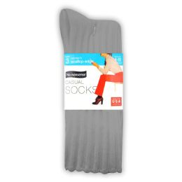 6 Units of Nn Cas Pk Scallop Asst - Socks & Hosiery