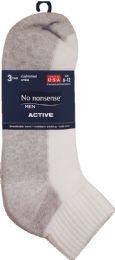 6 Units of Nn Men Cshn Ankle White - Mens Ankle Sock